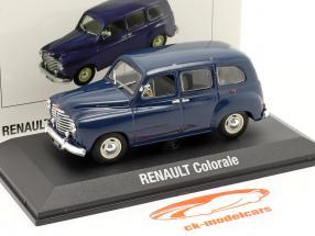 Renault Colorale year 1950-1957 dark blue 1:43 Norev