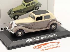 Renault Nervasport Année de construction 1932-1935 brun / beige 1:43 Norev
