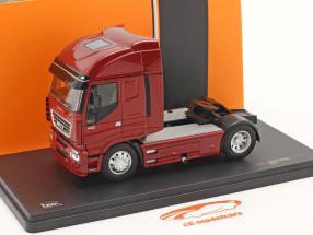 Iveco Stralis Año de construcción 2012 rojo metálico 1:43 Ixo