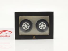 Trilex fælge og dæk sæt 1:18 Road Kings