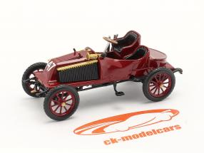 Renault Type K Byggeår 1902 mørk Rød 1:43 Norev