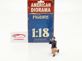 Race Day serie 2  figur #4  1:18 American Diorama