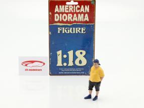 Car Meet Serie 1  Figur #2  1:18 American Diorama