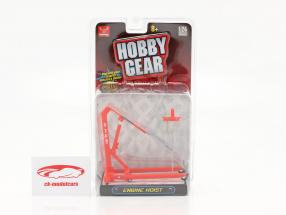 Engine Hoist Red 1:24 Hobbygear