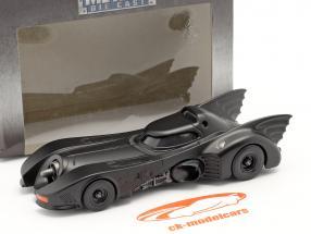 Batmobil Film Batman (1989) mattschwarz 1:43 Jada Toys