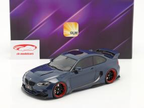 BMW M235i DarwinPro MTC Black Sails Widebody 2018 tiefseeblau 1:18 GLM