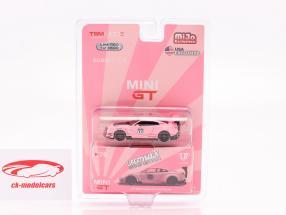 LB-Works Nissan G-TR (R35) Modelo 2 LHD Pink Pig em Blister 1:64 TrueScale