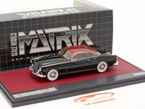 Chrysler ST Special Ghia Coupe 1953 zwart / rood metalen 1:43 Matrix