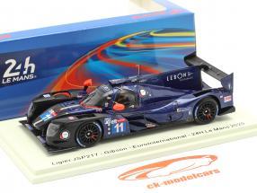 Ligier JS P217 #11 24h LeMans 2020 d'Ansembourg, Maris, Tambay 1:43 Spark
