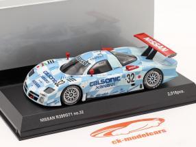 Nissan R390 GT1 #32 Tercero sitio 24h LeMans 1998 1:43 Kyosho