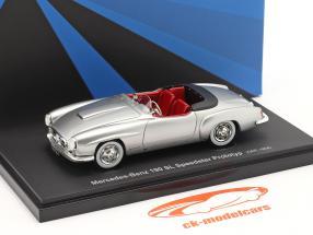 Mercedes-Benz 190 SL Speedster voorlopig ontwerp 1954 zilver 1:43 AutoCult