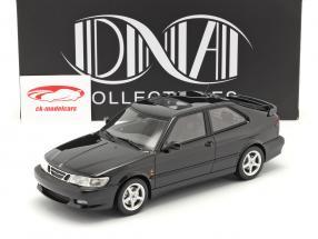 Saab 9-3 Viggen Coupe bouwjaar 2000 zwart metalen 1:18 DNA Collectibles