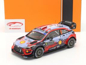 Hyundai i20 Coupe WRC #9 Rallye Monte Carlo 2020 Loeb. Elena 1:18 Ixo