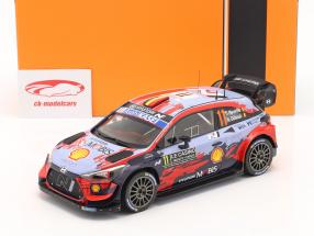 Hyundai i20 Coupe WRC #11 Vinder Rallye Monte Carlo 2020 Neuville, Gilsoul 1:18 Ixo