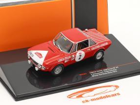 Lancia Fulvia 1600 Coupe HF #2 Winnaar Rallye San Remo 1972 1:43 Ixo