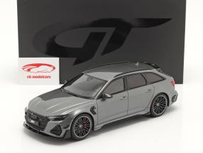 Audi A6 RS6 Avant ABT Byggeår 2020 Grå metallisk 1:18 GT-SPIRIT