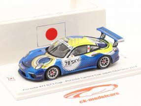 Porsche 911 GT3 Cup #78 champion Porsche Carrera Cup Japon 2018 1:43 Spark