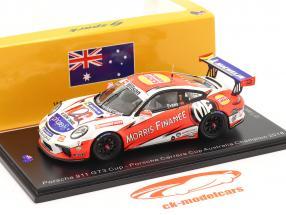 Porsche 911 GT3 Cup #7 kampioen Porsche Carrera Cup Australië 2018 1:43 Spark