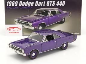 Dodge Dart GTS 440 Baujahr 1969 lila 1:18 GMP