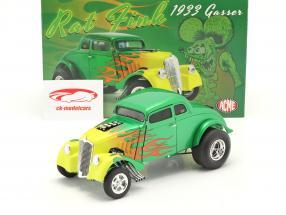 Gasser Rat Fink year 1933 green / yellow 1:18 GMP