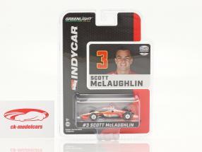 Scott McLaughlin Chevrolet #3 IndyCar Series 2021 1:64 Greenlight
