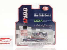 Ford F-350 Ramp Truck com Ford Trans Am Mustang U100 Allan Moffat 1:64 GMP