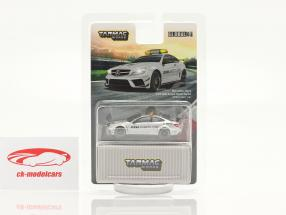 Mercedes-Benz C63 AMG Coupe Black Series DTM Safety Car plata 1:64 Tarmac Works