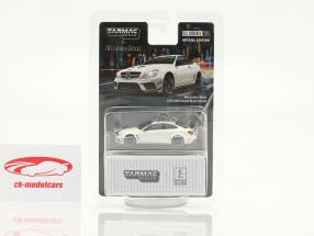 Mercedes-Benz C63 AMG Coupe Black Series blanche 1:64 Tarmac Works