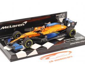 Carlos Sainz McLaren MCL35 #55 2e Italie GP F1 2020 1:43 Minichamps