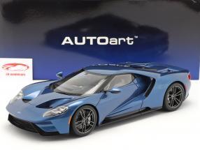 Ford GT Anno di costruzione 2017 liquido blu 1:12 AUTOart
