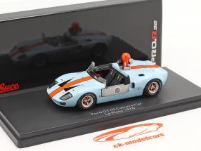 Ford GT40 macchina fotografica auto da il film Le Mans 1970 1:43 Schuco