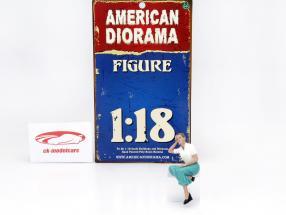 zittend figuur Kristan 1:18 American Diorama