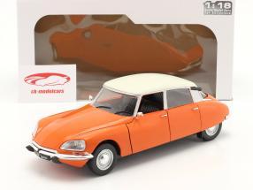 Citroen D Special Byggeår 1972 orange 1:18 Solido
