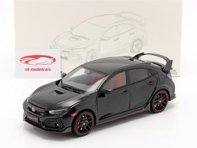Honda Civic Type-R bouwjaar 2020 zwart 1:18 LCD Models