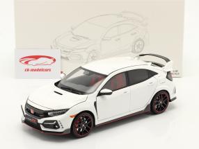 Honda Civic Type-R Baujahr 2020 weiß 1:18 LCD Models
