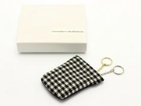 Porsche Sleutelhanger / Clochette 1MIO911 zwart / wit