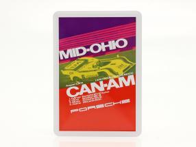Porsche Cartolina di metallo: Can-Am Mid-Ohio 1972