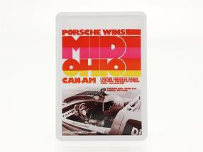 Porsche Metal postkort: Can-Am Mid-Ohio 1973