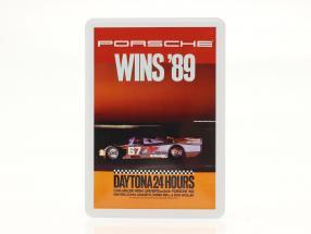 Porsche Carte postale en métal : 24h Daytona 1989