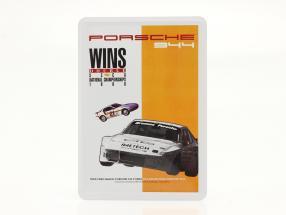 Porsche Metal postcard: Porsche 944 SCCA 1988