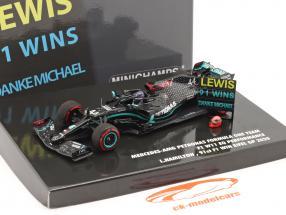 Hamilton Mercedes-AMG F1 W11 #44 91st Win Eifel GP Formula 1 2020 1:43 Minichamps