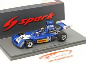 Carlos Pace Surtees TS16 #18 4e Braziliaans GP formule 1 1974 1:43 Spark