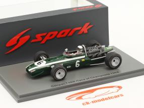 Brian Redman Cooper T86B #6 Quinto Race of Champions Brands Hatch 1968 1:43 Spark