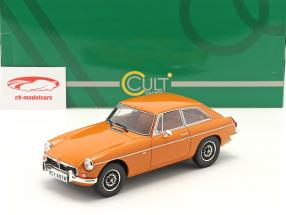 MGB GT V8 Ano de construção 1974 laranja 1:18 Cult Scale