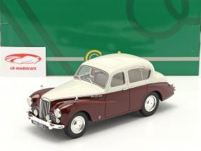 Sunbeam Talbot 90 MK III Byggeår 1954 grå / rødbrun 1:18 Cult Scale