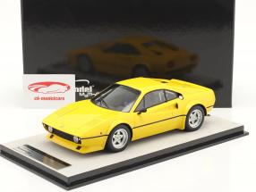Ferrari 308 GTB/4 LM Press version 1976 modena yellow 1:18 Tecnomodel
