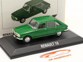 Renault 16 (R16) year 1965-1970 green 1:43 Norev