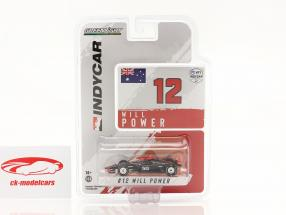 Will Power Chevrolet #12 IndyCar Series 2021 1:64 Greenlight