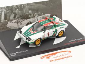 Lancia Stratos HF #1 gagnant Rallye Monte Carlo 1977 Munari, Maiga 1:43 Altaya