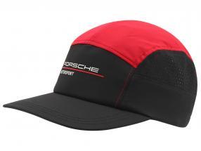 Porsche Motorsport Cap schwarz / rot